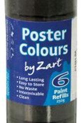 PT881-BK CS Poster Colours - Single Colour Refill - Black