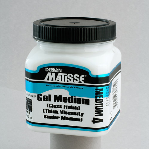 Matisse MM4 Gel Medium (Gloss Finish)