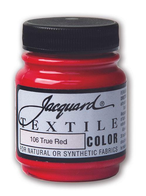 Jacquard Textile Colour - True Red
