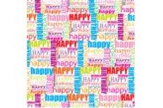 CRHBFC Printed Club Roll Happy Birthday