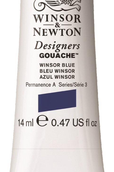 706 W&N Designers' Gouache 14ml - Winsor Blue