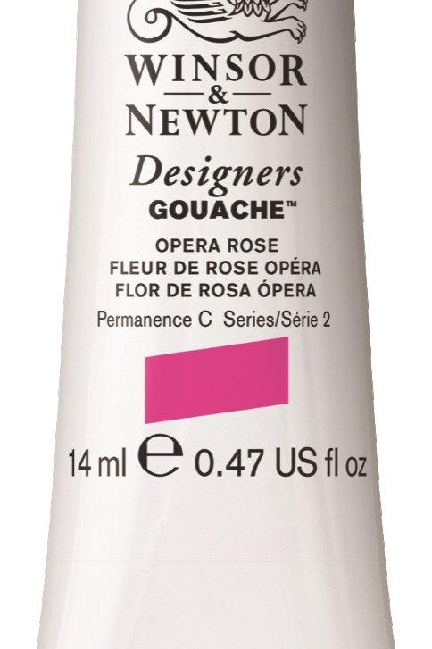448 W&N Designers' Gouache 14ml - Opera Rose