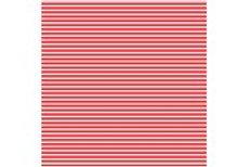 CRRWS Printed Club Roll Red Stripe