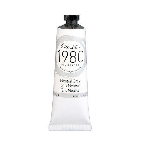 Gamblin 1980 Oil Colour - Neutral Grey