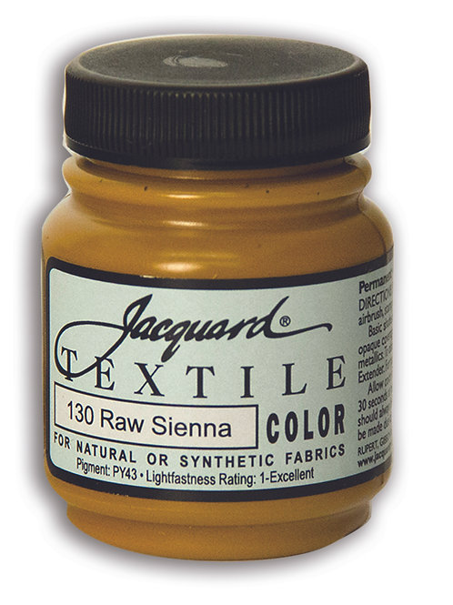 Jacquard Textile Colour - Raw Sienna