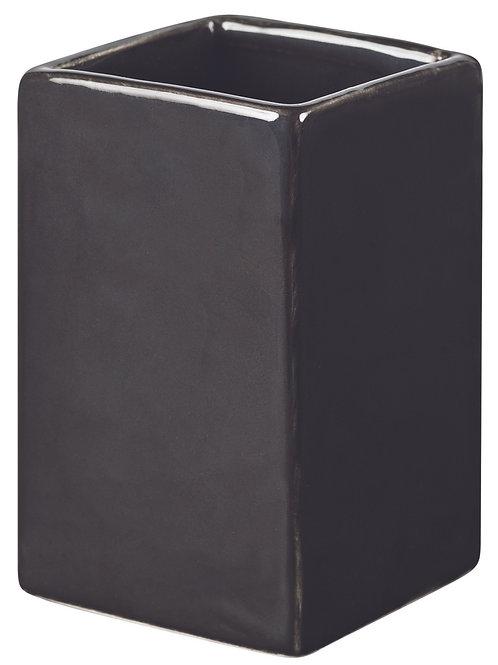CE004 Ceramic Oblong Vases -Black