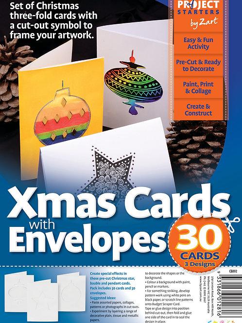 CS Cards & Envelopes - Christmas Cut-Outs