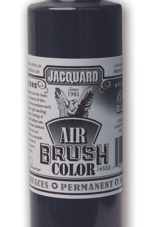 Jacquard Airbrush Colour 463ml - Opaque Black