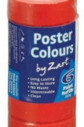 PT881-RE CS Poster Colours - Single Colour Refill - Brilliant Red