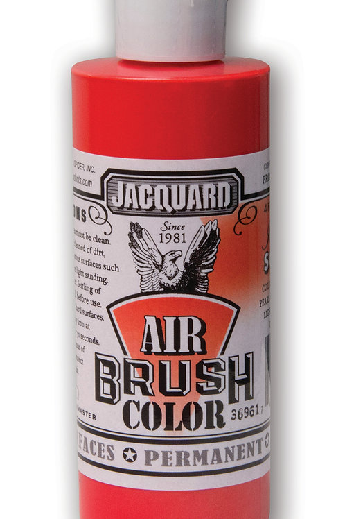 Jacquard Airbrush Colour 118ml - 2606 Iridescent Scarlet