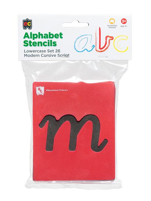 EC Alphabet Lower Case Stencils