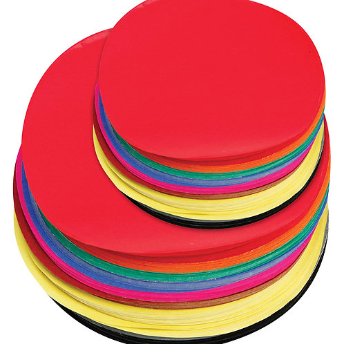 PA248 CS Paper Circles - Assorted