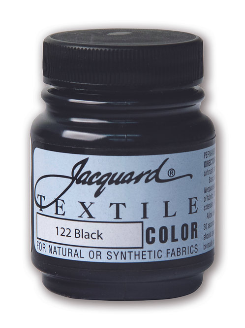 Jacquard Textile Colour - Black
