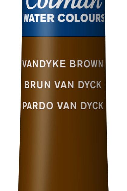676 W&N Cotman Water Colour - Vandyke Brown