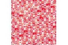 CRLHRE Printed Club Roll Love Hearts