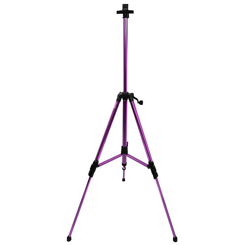 MEA0048P MM Metallic Tripod Easel - Purple
