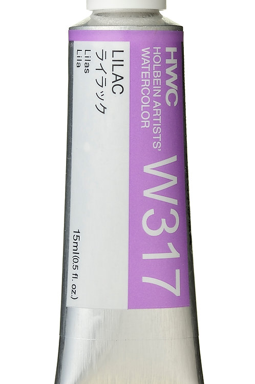 W317 Holbein Artists' Watercolour 15ml - Lilac