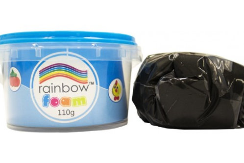 Rainbow Foam 110g Single Colour Jars