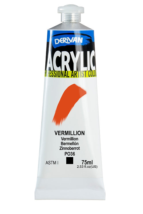 Derivan Acrylic - Vermillion