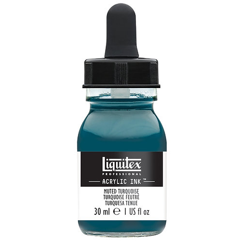 503 Liquitex Acrylic Ink 30ml - Muted Turquoise