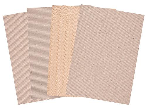 CS Corrugated Natural Card
