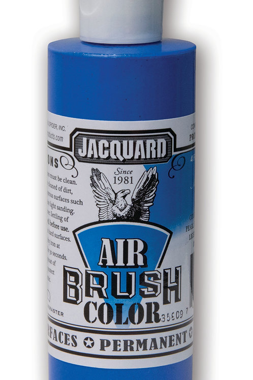 Jacquard Airbrush Colour 118ml - 2302 Metallic Blue