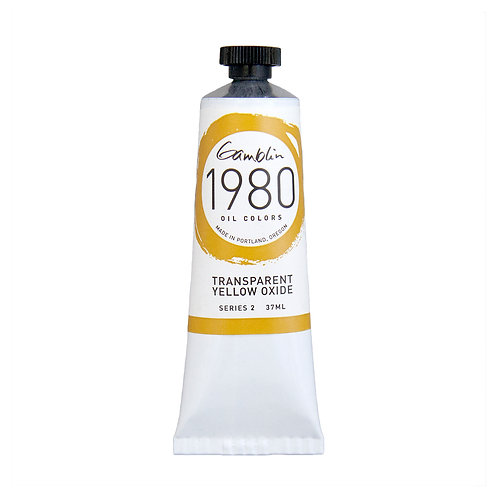 Gamblin 1980 Oil Colour - Transparent Yellow Oxide