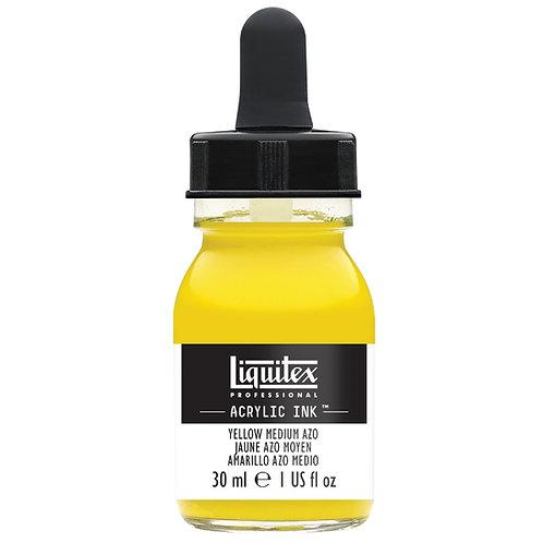 412 Liquitex Acrylic Ink 30ml - Yellow Medium Azo