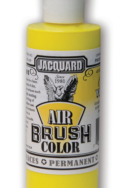 Jacquard Airbrush Colour 118ml - 2400 Fluorescent Yellow