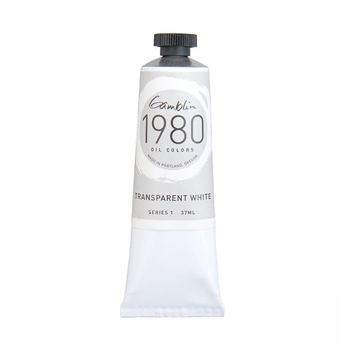 Gamblin 1980 Oil Colour - Transparent White