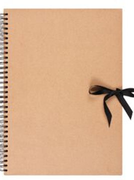 CS Kraft Spiral Sketchbook