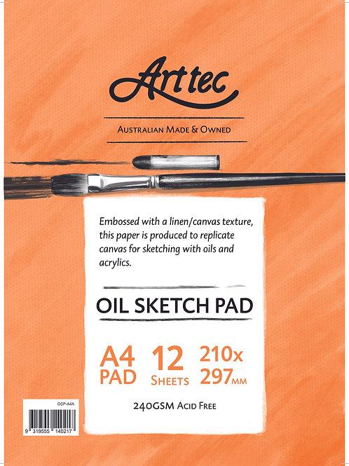 Art tec Oil Sketch Pad