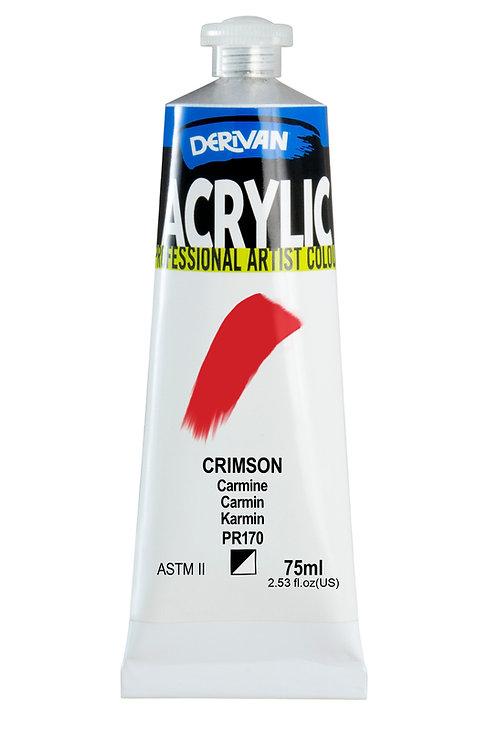 Derivan Acrylic - Crimson