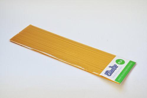3Doodler PLA Plastic Strands - Gangsta Gold