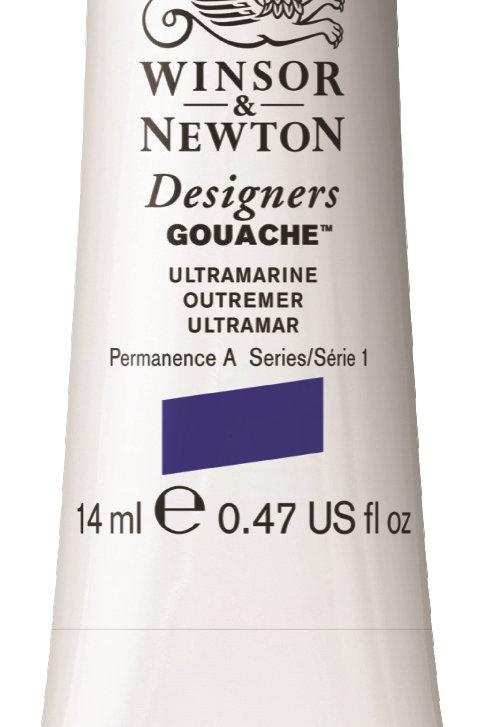 660 W&N Designers' Gouache 14ml - Ultramarine