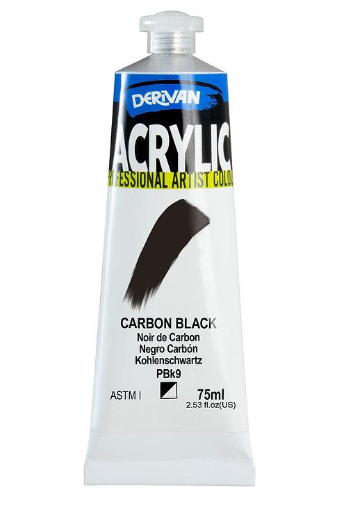 Derivan Acrylic - Carbon Black