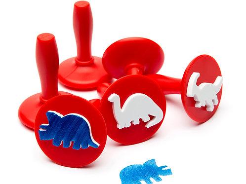 PSTD6 EC Paint & Dough Stampers Dinosaurs (Set of 6)