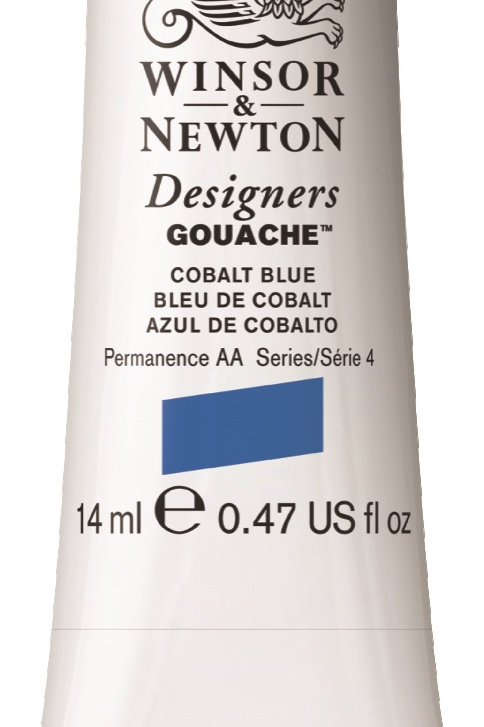 178 W&N Designers' Gouache 14ml - Cobalt Blue
