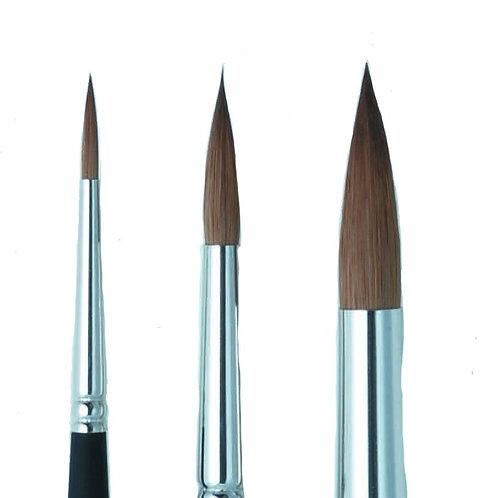 As Brush Series 72 Kolinsky Sable