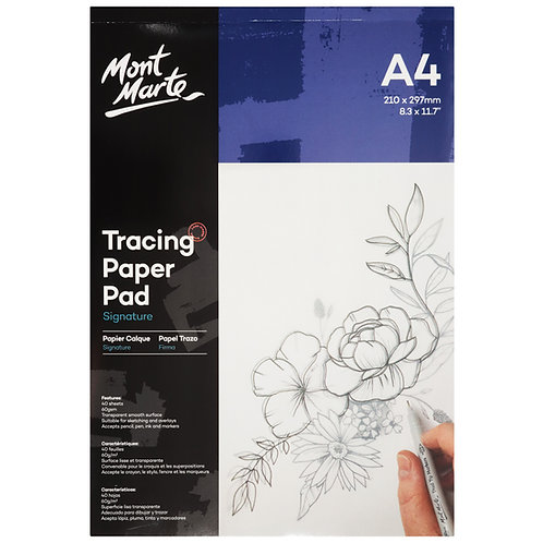MM Tracing Paper Pad 60gsm 40 sheet