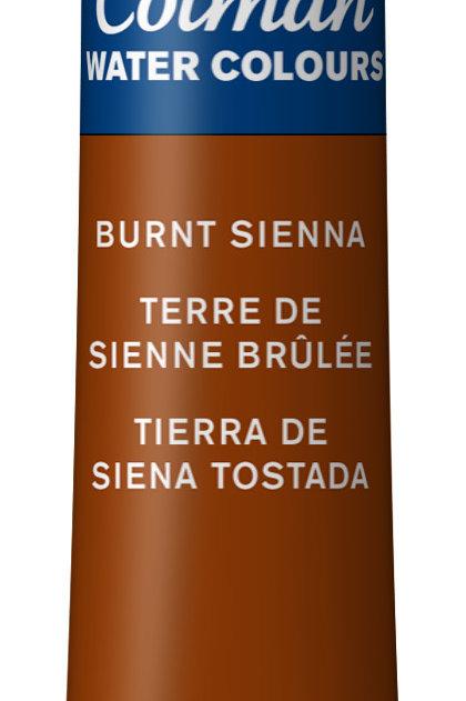 074 W&N Cotman Water Colour - Burnt Sienna