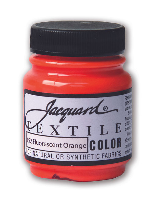 Jacquard Textile Colour - Fluorescent Orange