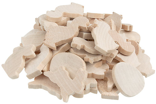 WN013 Wooden Shapes - Easter