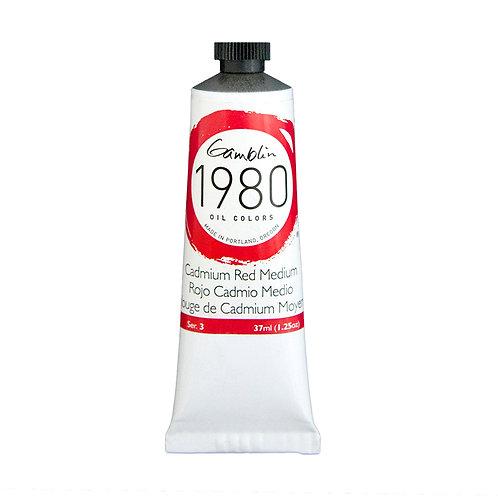 Gamblin 1980 Oil Colour - Cadmium Red Medium