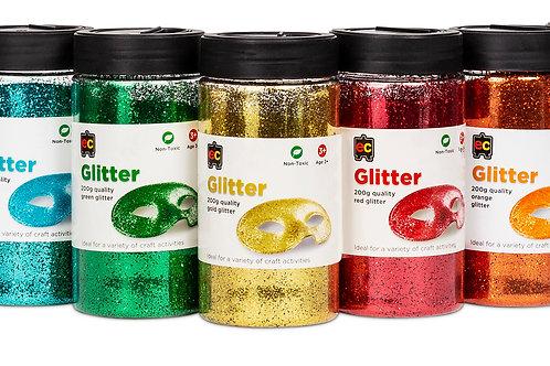 EC Glitter 200g Jars