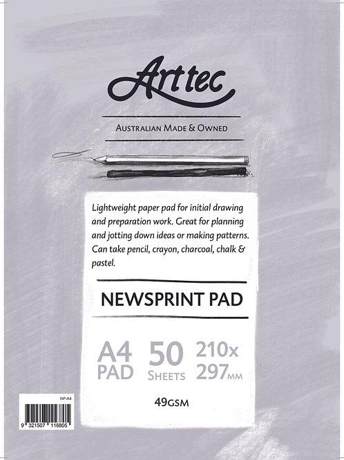 Art tec Newsprint Pads