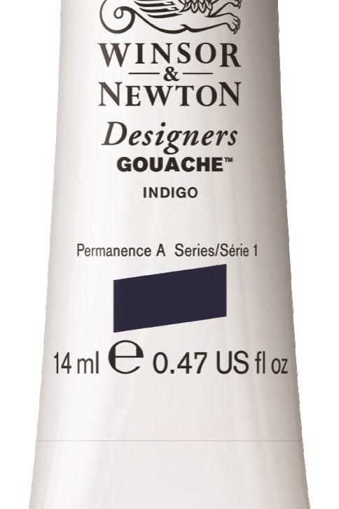 322 W&N Designers' Gouache 14ml - Indigo