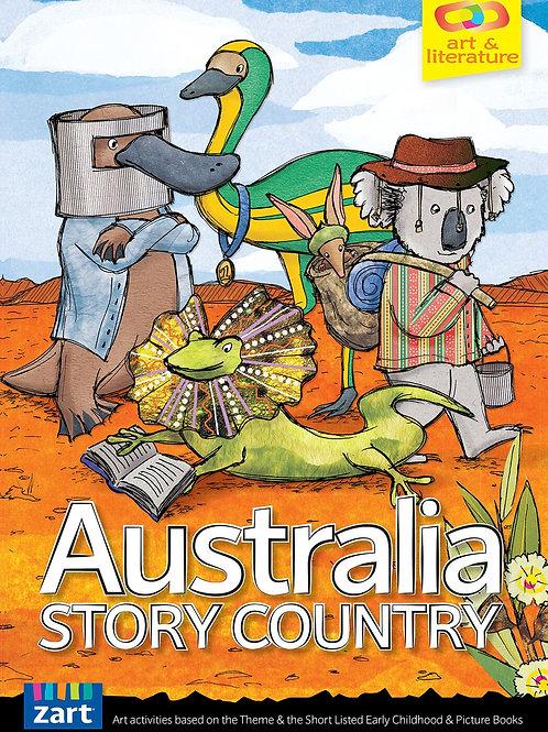 BK627 CS Book Week 2016 - Australia: Story Country