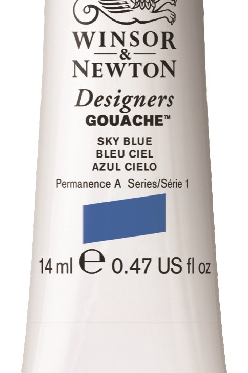 621 W&N Designers' Gouache 14ml - Sky Blue