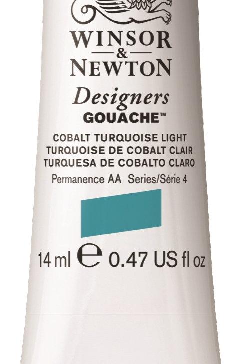 455 W&N Designers' Gouache 14ml - Cobalt Turquoise